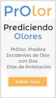 Herramienta para predicción de olores
